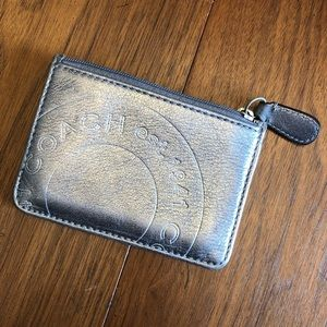 Coach Card Holder with Zip